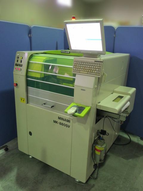 ミナミ スクリーン印刷機 MK-880SV