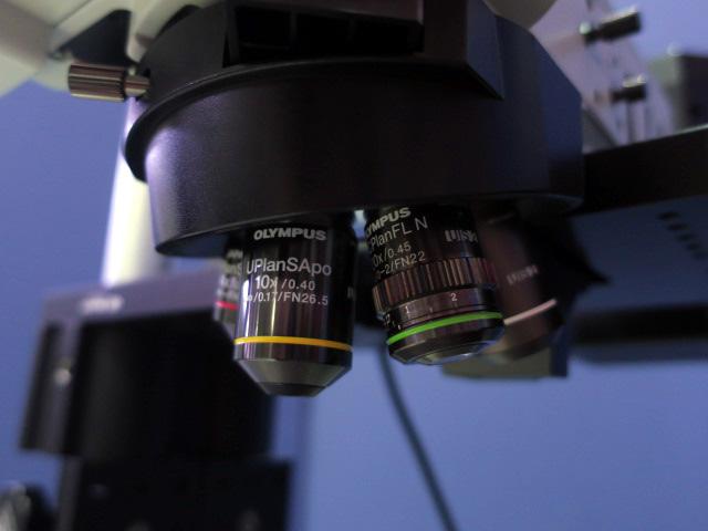 オリンパス 実験用蛍光顕微鏡ユニット BX-RFAA
