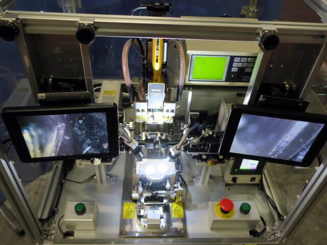 日本アビオニクス FPC LCDMicro Joining Equipment NA-N1115 はんだ付け圧着 熱カシメ