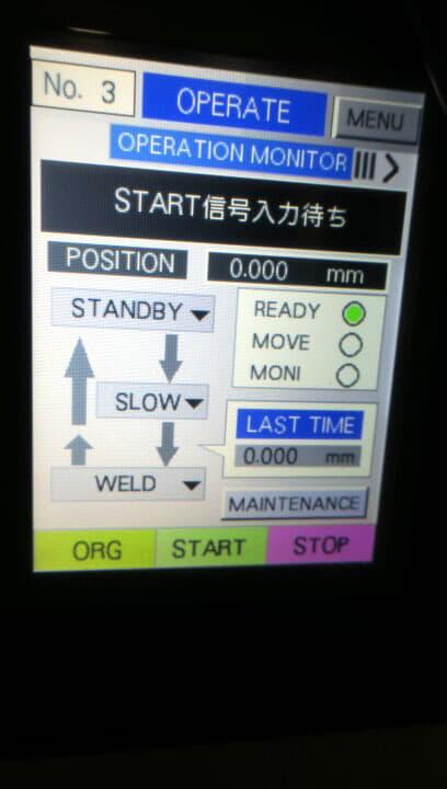 日本アビオニクス FPC LCD接合装置 NA-N1115 はんだ付け