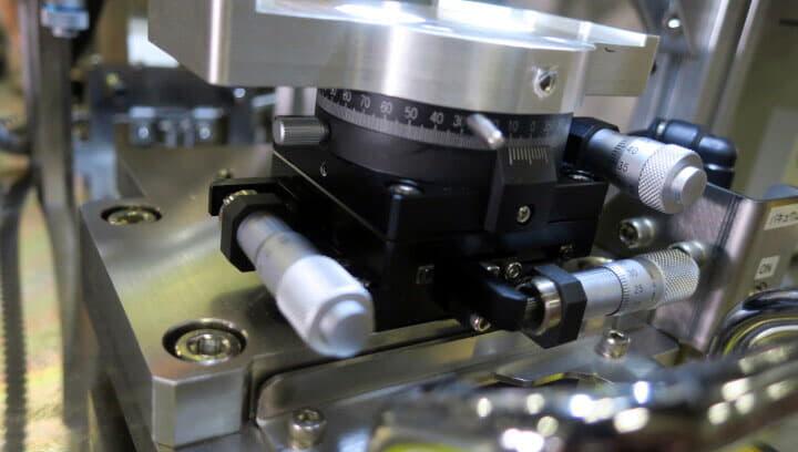 にほんあびおにくす FPC LCDせつごうそうち NA-N1115 ハンダ付け 精密接合