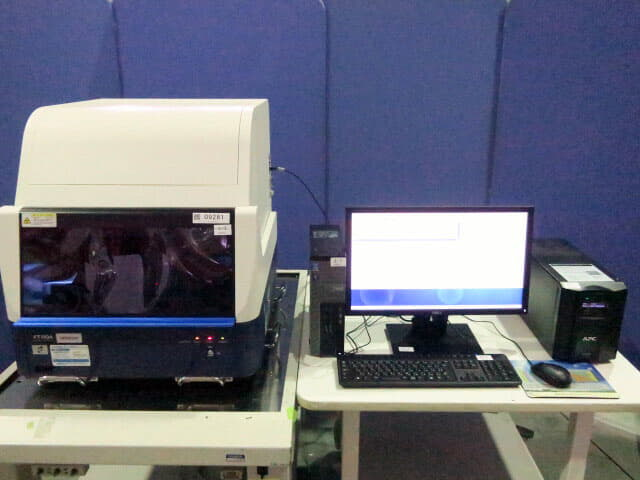 HITACHI Fluorescent X-ray Coating FT110A