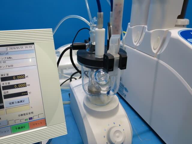 電量法 電位法 水分測定 カールフィッシャー法
