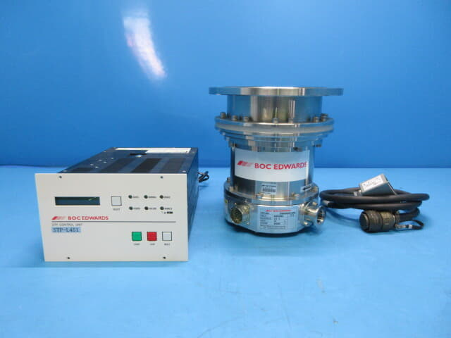boc edwards turbomolecular pump stp-l451