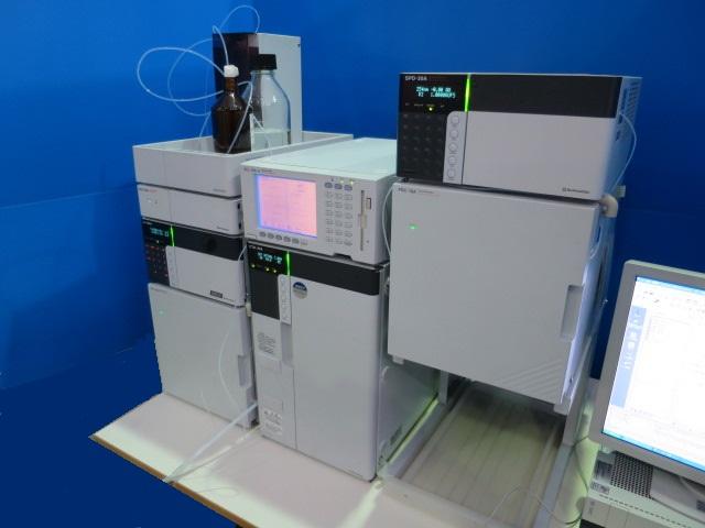 SHIMADZU GPC SYSTEM lc-20ad