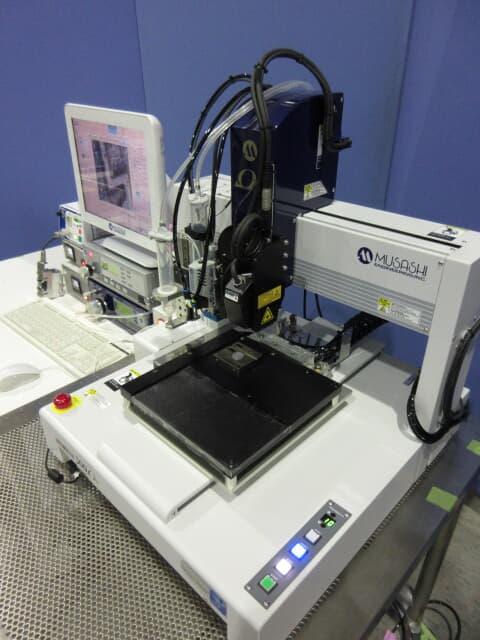 MUSASHI ENGINEERING PC control image recognition dispensing system IMAGE MASTER 350PC