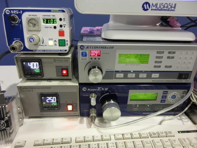 武蔵エンジニアリング PC制御画像認識塗布システム IMAGE MASTER 350PC