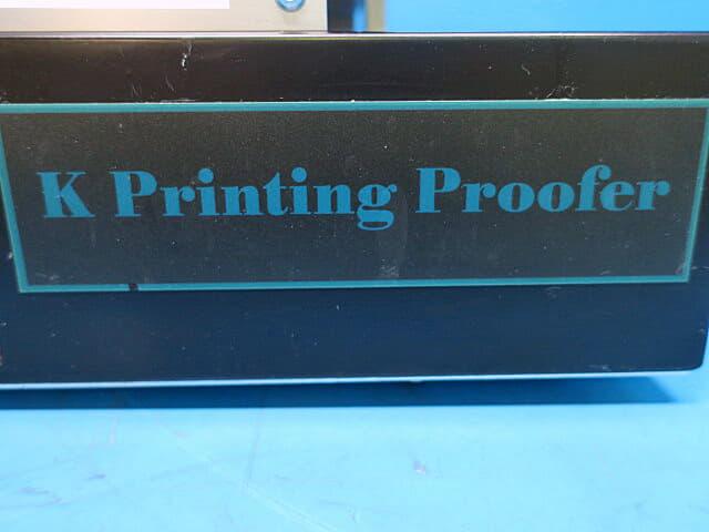 マツオ 印刷試験機 Kプリンティングルーファー