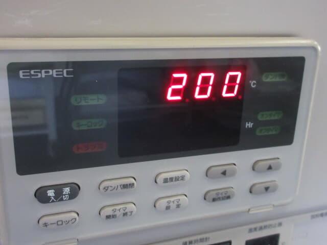 エスペック 小型高温チャンバー st-110