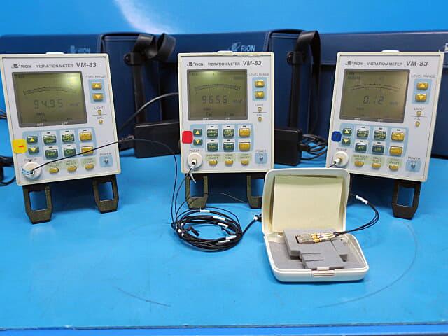 リオン 汎用振動計 VM-83