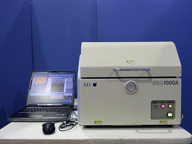 SIIナノテクノロジー ケイ光X線分析計(HSモニター) SEA1000A