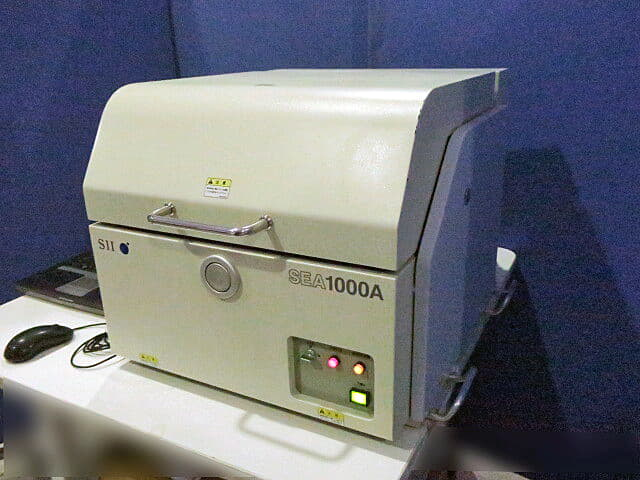 SII X-Ray Fluorescence Analyzer SEA1000A