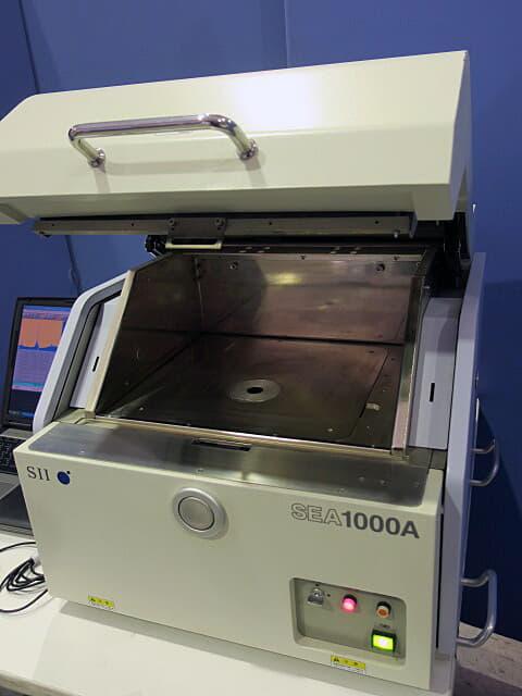 日立ハイテクサイエンス 蛍光X線分析装置 EA1000A