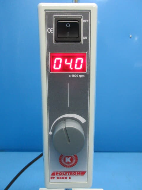 中古 ポリトロン コロイドミル 攪拌粉砕機 かくはん粉砕機 pt2500e