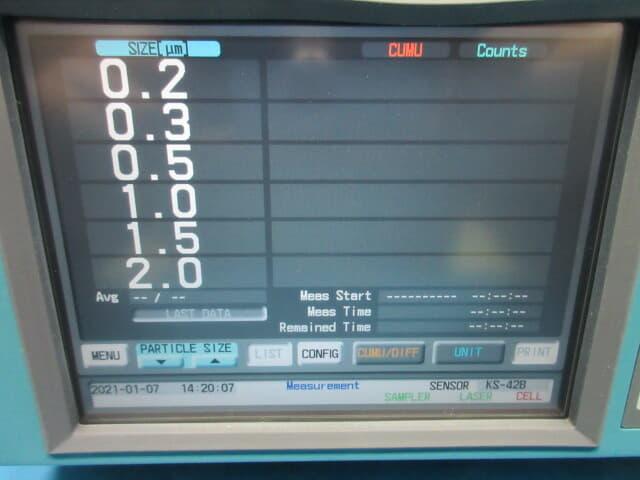rion 微粒子計測器 ks-42b